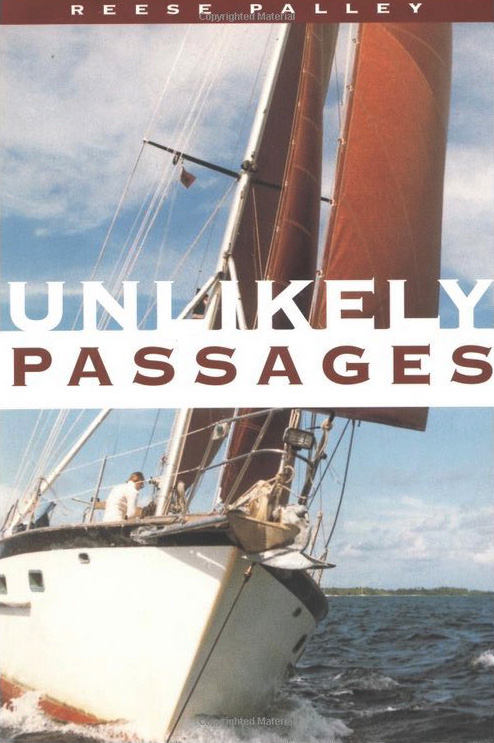 Title cover form the book Unlikely Passages by Reese Palley